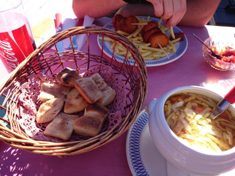 Mittagessen Alp