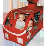 Helikopter mit Kinder