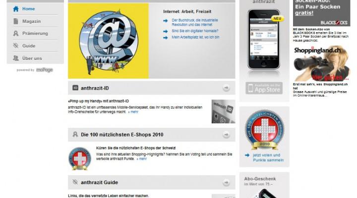 Voten für die nützlichsten Online-Shops bei Anthrazit