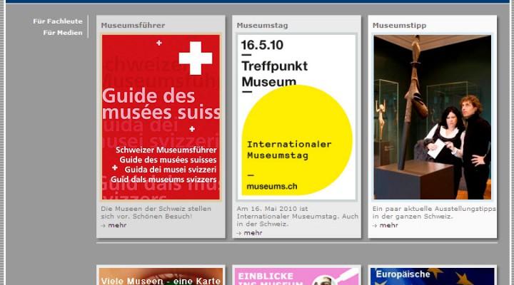 Internationaler Museumstag am Sonntag, 16. Mai 2010