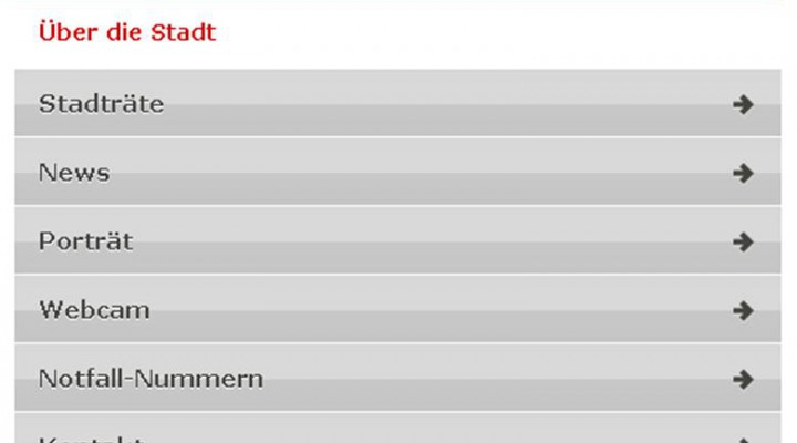 Handy-optimierte Webseiten, m.winterthur.ch
