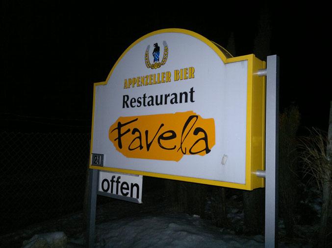 Restaurant Favela Volketwil