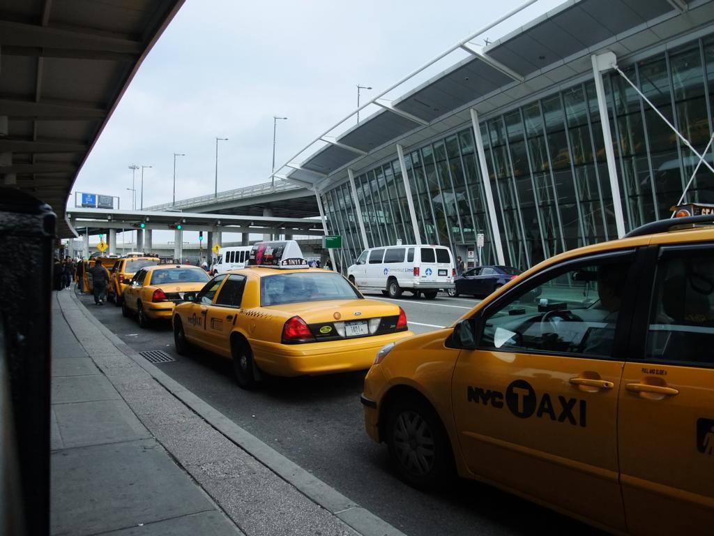 Ankunft in New York