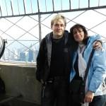Stefan und Helene Empire State Building