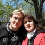 Stefan und Helene im Zoo