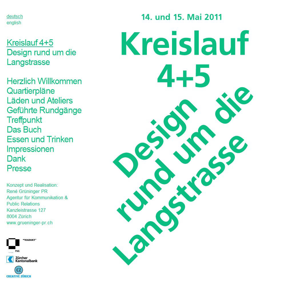 Sonntagsverkauf, 15. Mai 2011 in Zürich/CH und Waldshut-Tiengen, Murg