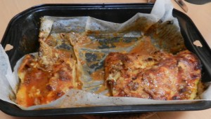 Nur noch die Hälfte der Lasagne