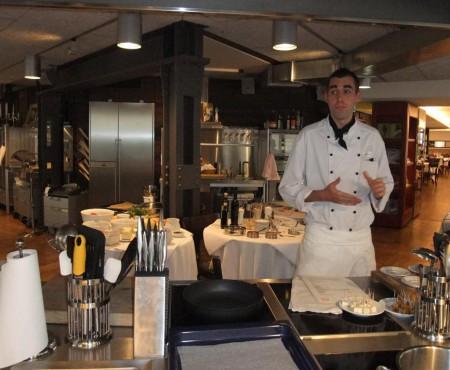 Cookingclasstweetup mit Shibby im Restaurant Hiltl