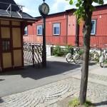 Bikestation am Hafen Gröna Lund