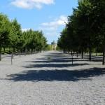 Langer Weg im Schloss Drottningholm
