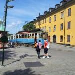Strassenbahn Vergnügungspark Gröna Lund