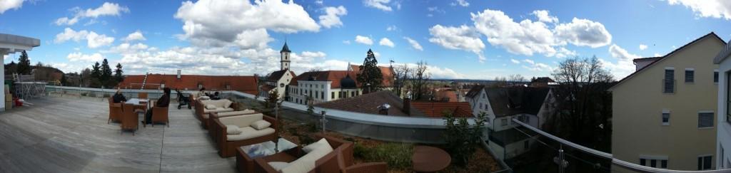 Aussicht Cafe Ueberblick