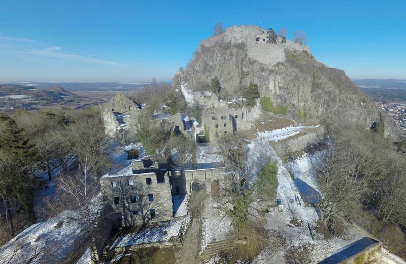 Festungsruine-Singen