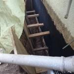 Umbau Garten 2014 – Teil 4 – Lichtschacht vergrössern