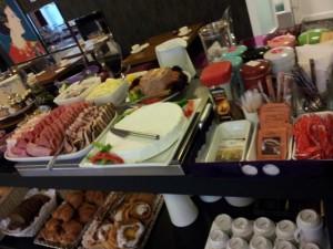 Auswahl Frühstücksbuffet Hotel Andersen