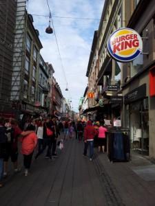 Einkaufstrasse Kopenhagen
