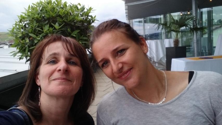 Selfie mit Manuela