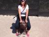 Helene im Zoo
