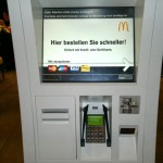 Easy Order bei Mc Donalds