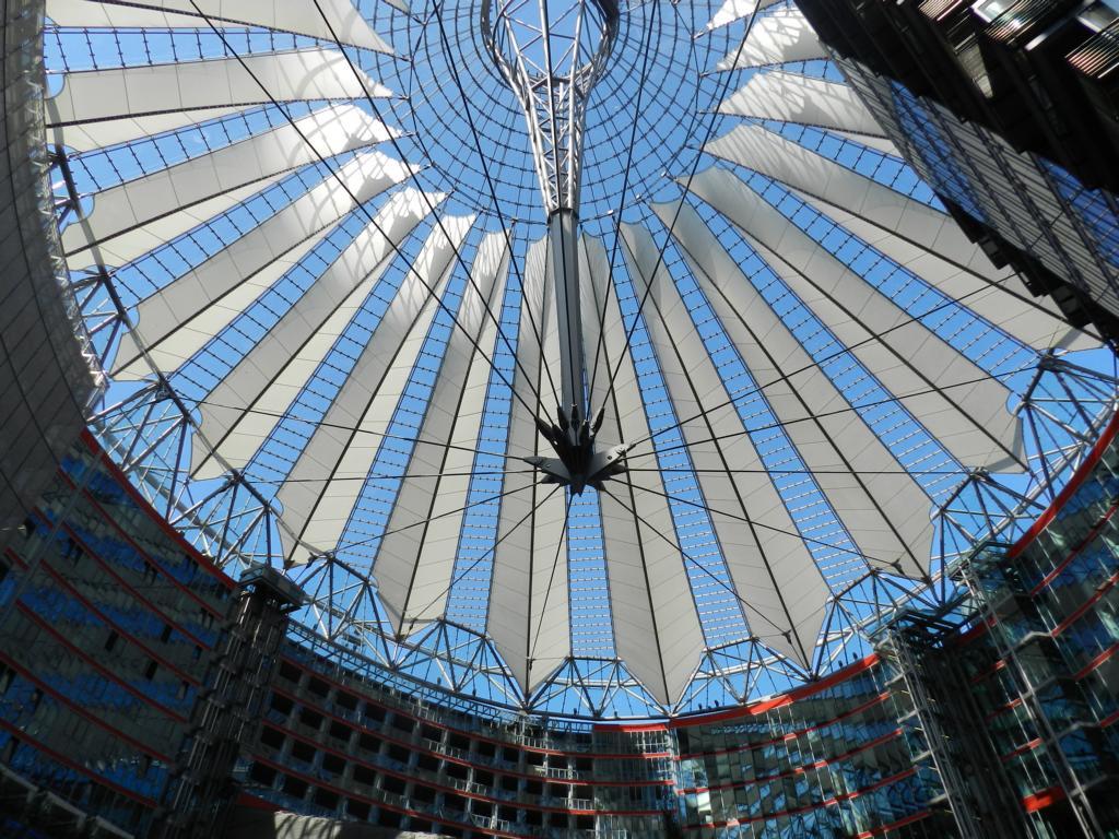 Berlin – 2. Tag Rundgang und Nachtessen im Fernsehturm Berlin