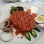 Mittagessen im Hiltl in Zürich
