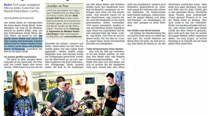 Lotrify – 2. Bonebreaker Ball Tour