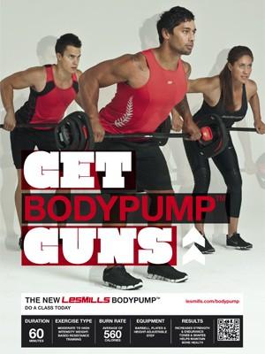 BodyPump 82 – Trackliste