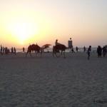 Sonnenuntergang-am-Stand