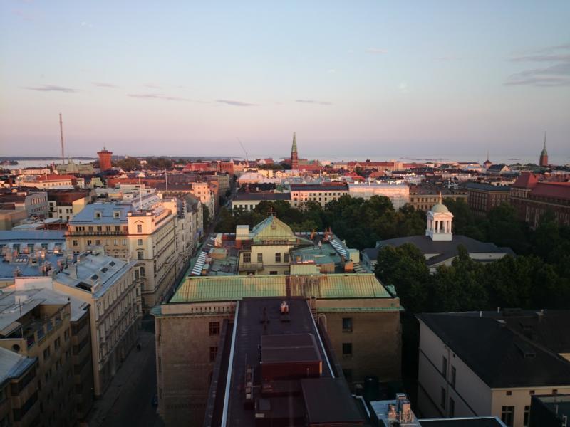 Aussicht Helsinki-Stadt
