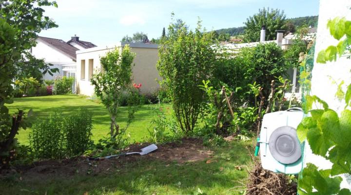 Umbau Garten 2014 – Teil 1 – Abholzen und Schreddern