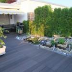 Terrasse mit WPC Bodendielen selber bauen 2010