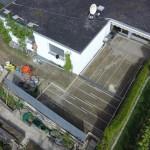 Umbau Garten 2014 – Teil 5 – Terrasse betonieren