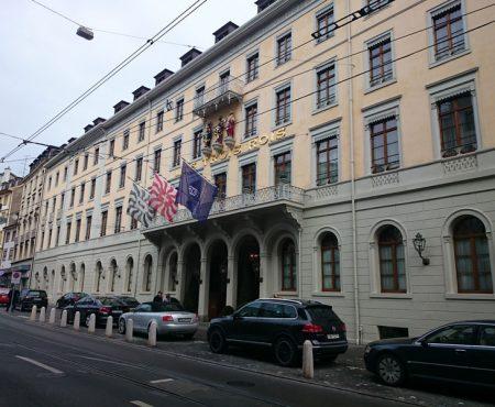 Shop-Stop-Shop im Grand Hotel Les Trois Rois Basel