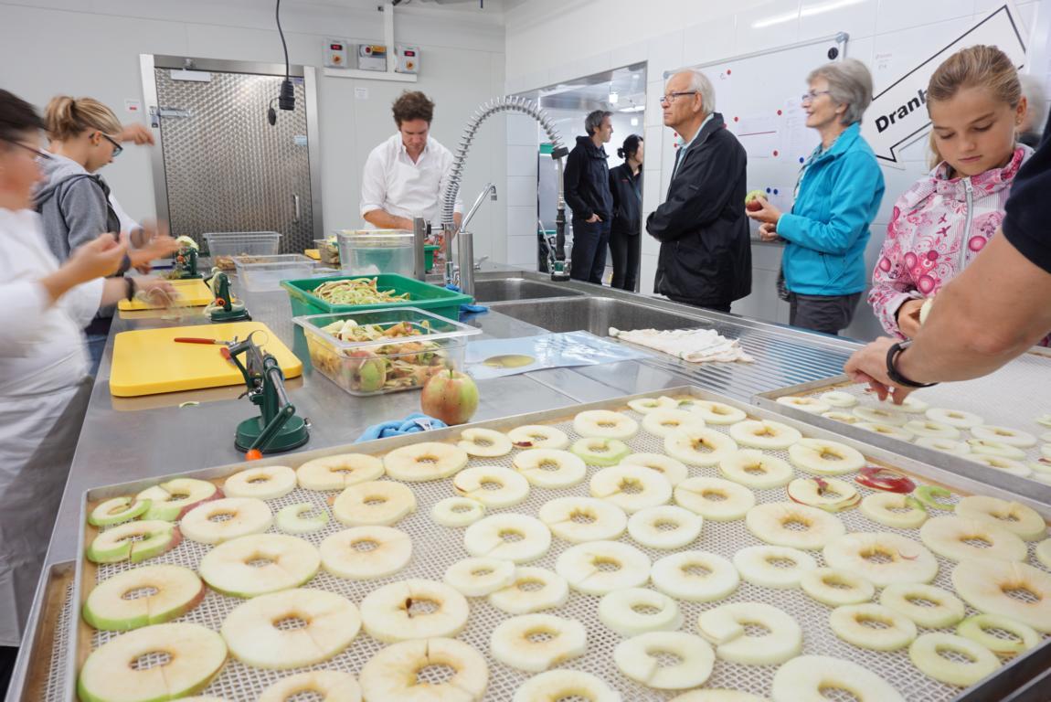 Apfelringe soweit das Auge reicht Arwo Stiftung Fislisbach