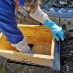 Imker in Ausbildung – Bienenhaus reinigen Februar 2019